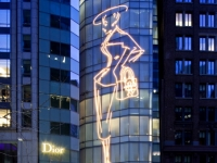 Dior - 57th Street - Grand Opening Specialty Facade Lighting (LEDneon by others) - id: 122